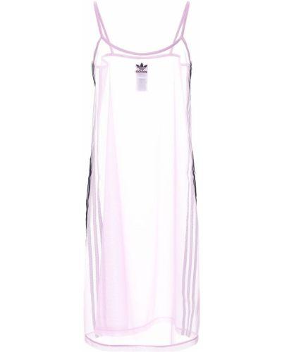 Платье на бретелях сетчатое с заплатками Adidas Originals
