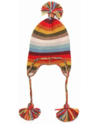Czerwona czapka beanie Alanui