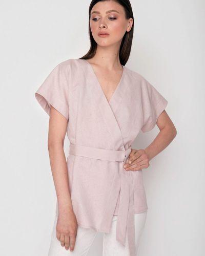 Блузка розовая весенний Garmoniya