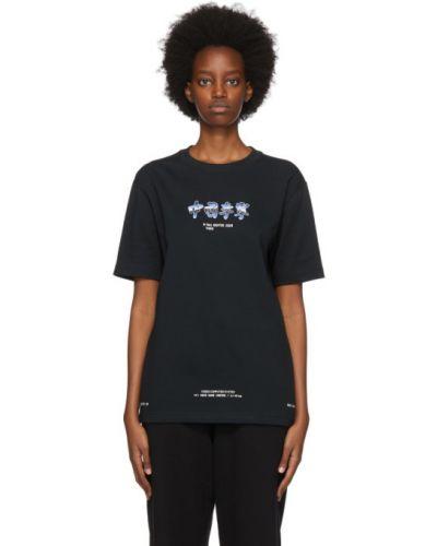 Трикотажная белая футболка с воротником Li-ning
