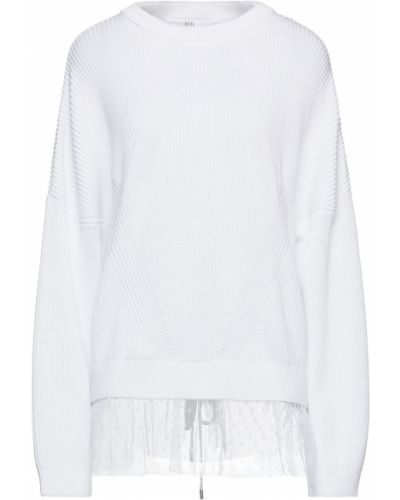 Хлопковый свитер - белый Redvalentino
