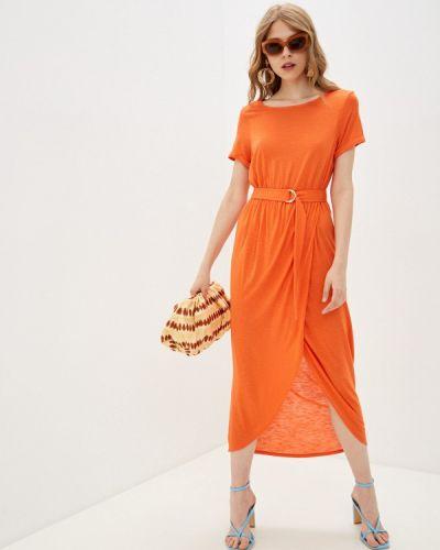 Платье - оранжевое Marks & Spencer
