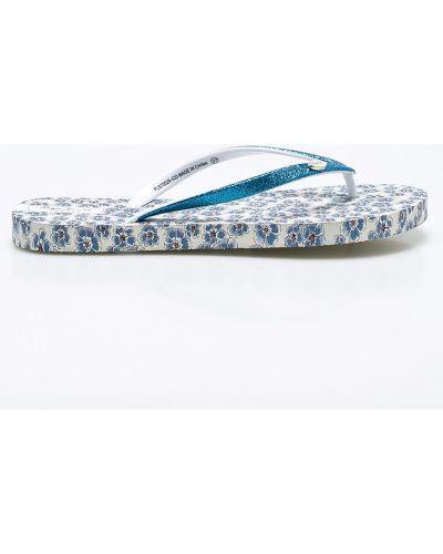 Голубые сандалии Pepe Jeans