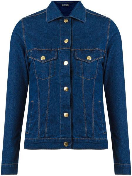Синяя куртка на пуговицах Amapô