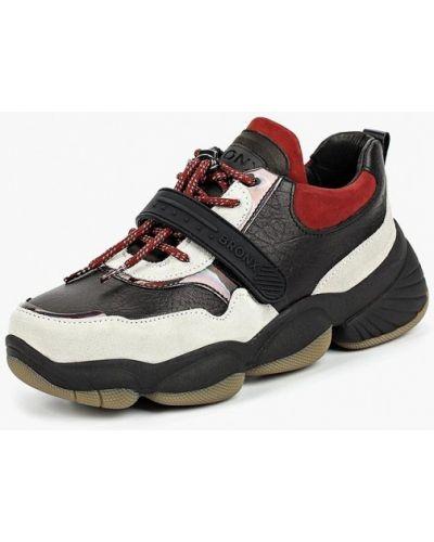 Черные кроссовки низкие Bronx
