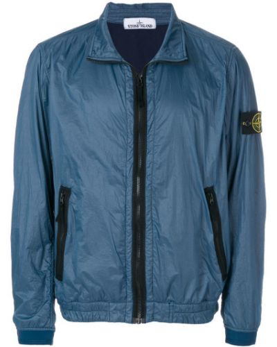 Синяя куртка Stone Island