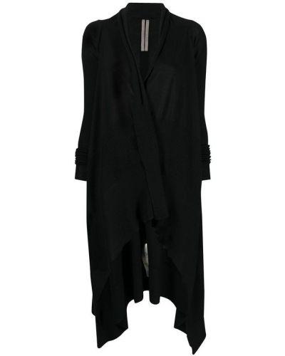 Czarny sweter asymetryczny Rick Owens