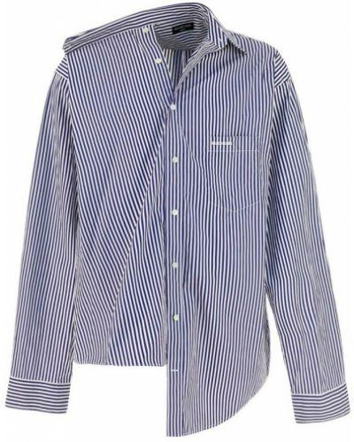 Koszula - niebieska Balenciaga