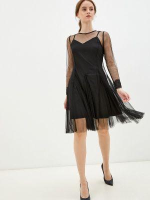 Черное весеннее вечернее платье M,a,k You Are Beautiful
