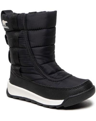 Czarne śniegowce Sorel