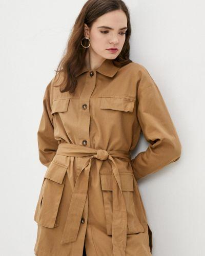 Облегченная коричневая куртка B.style