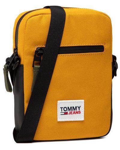 Żółta saszetka Tommy Jeans