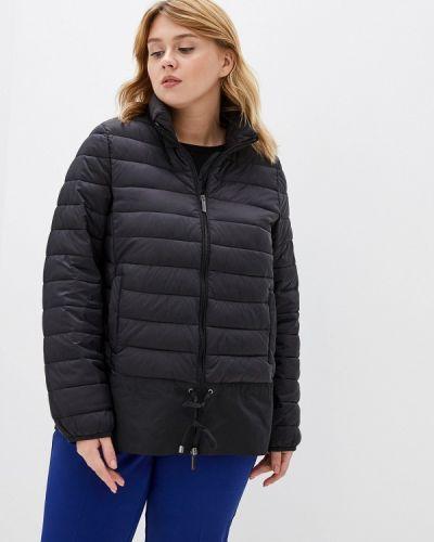 Утепленная куртка демисезонная черная Persona By Marina Rinaldi