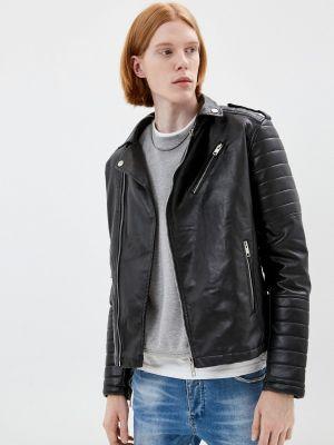 Черная зимняя куртка Terance Kole