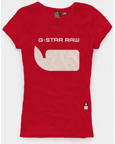 Футболка с принтом G-star Raw