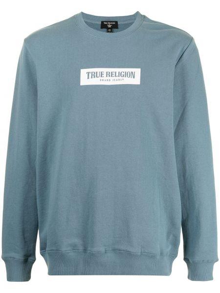 Bluza dresowa - biała True Religion