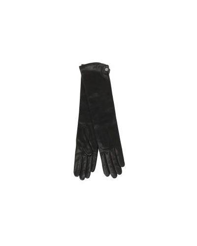 Перчатки длинные кожаные Agnelle