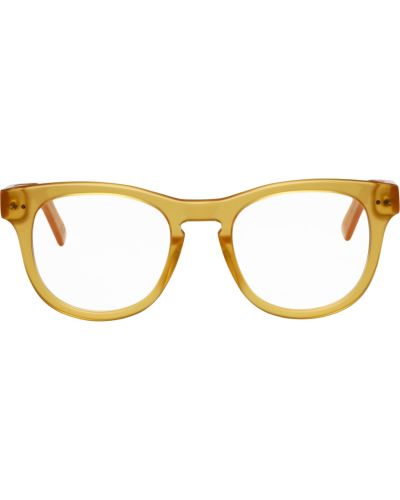 Okulary srebrne - żółte Retrosuperfuture
