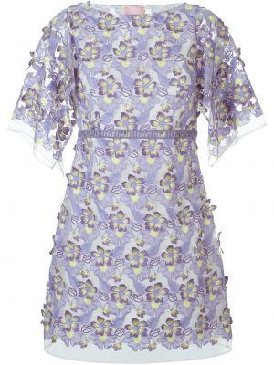 Ажурное платье - розовое Giamba