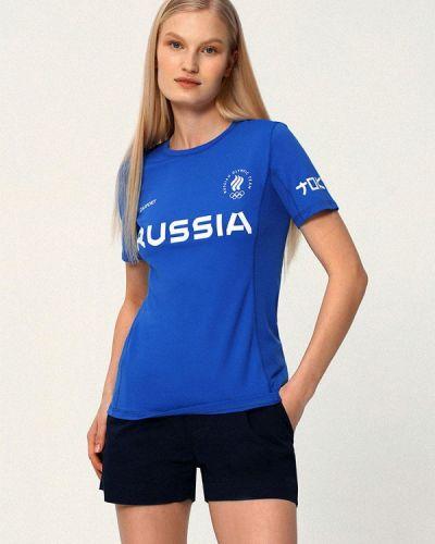 Спортивная футболка - синяя Zasport