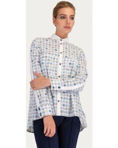 Блузка с длинным рукавом белая Stimage