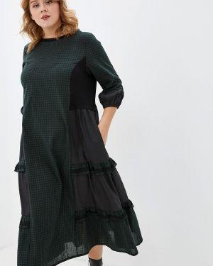 Платье - зеленое Milanika