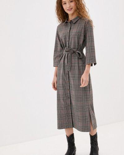 Платье платье-рубашка осеннее Unq