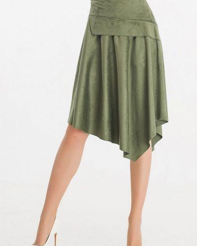 Зеленая юбка свободного кроя Giulia Rossi