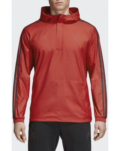 Красная ветровка Adidas