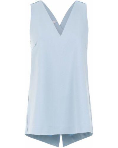 Блузка без рукавов - синяя Mara Mac