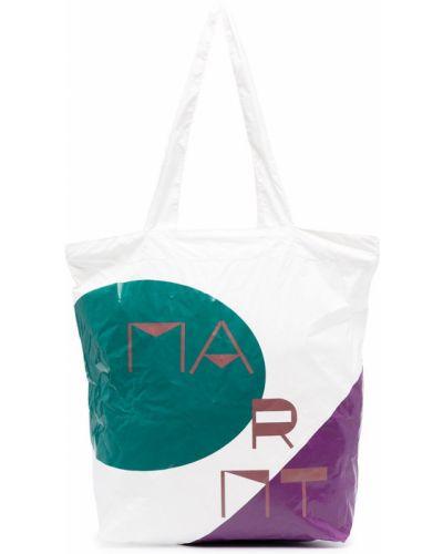 Открытая белая сумка шоппер Isabel Marant