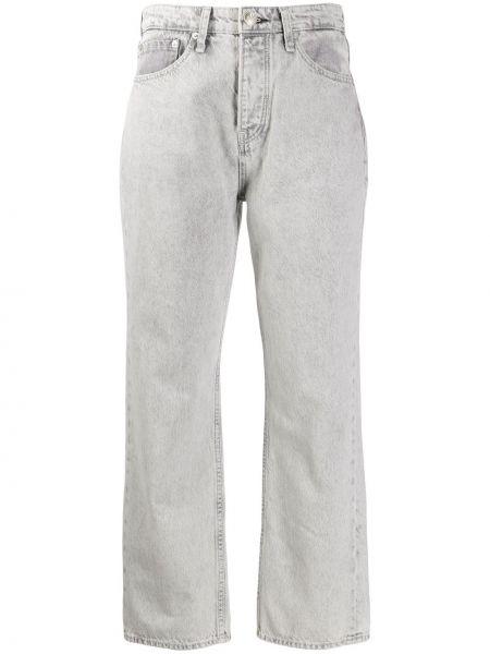 Прямые джинсы на пуговицах с карманами Rag & Bone