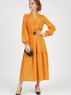 Повседневное платье - желтое Marichuell