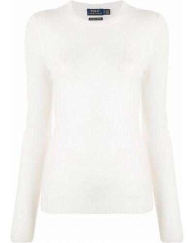 Polo bawełniana - biała Polo Ralph Lauren