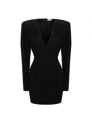 Шелковое платье - черное Magda Butrym