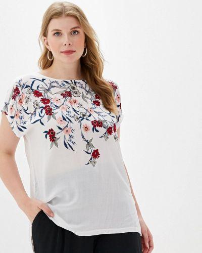 Блузка с коротким рукавом белая весенний Ovs