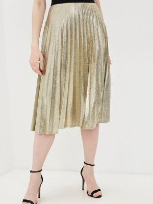 Плиссированная юбка - золотая Sa.l.ko