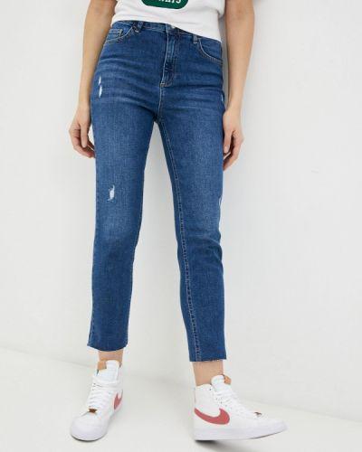 Синие джинсы-скинни узкого кроя Defacto