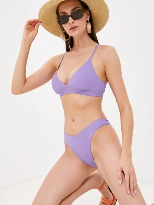 Фиолетовый купальник летний Rene Santi