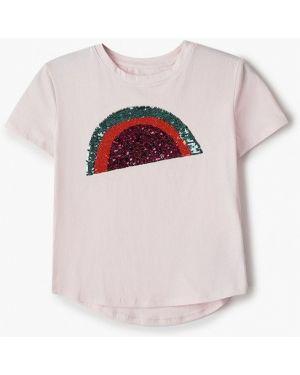 Розовая футболка Gap