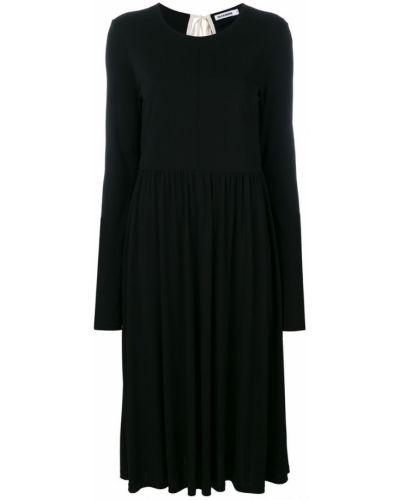 Платье хлопковое из вискозы Jil Sander