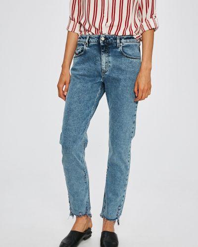 Прямые джинсы с карманами с поясом Diesel