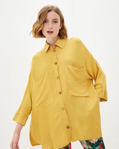 Блузка - желтая мадам т