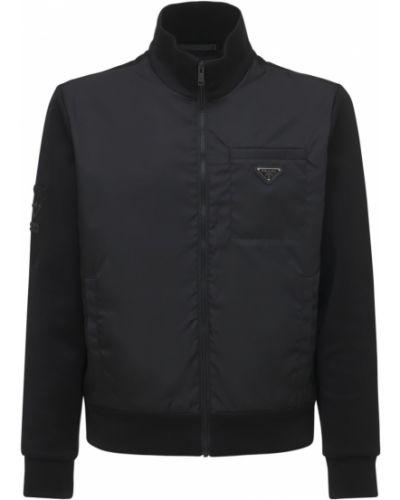 Нейлоновая куртка - черная Prada
