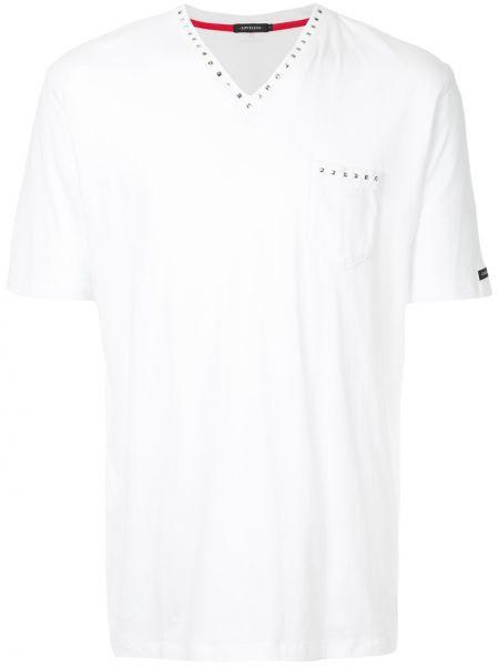 Biały t-shirt bawełniany Loveless
