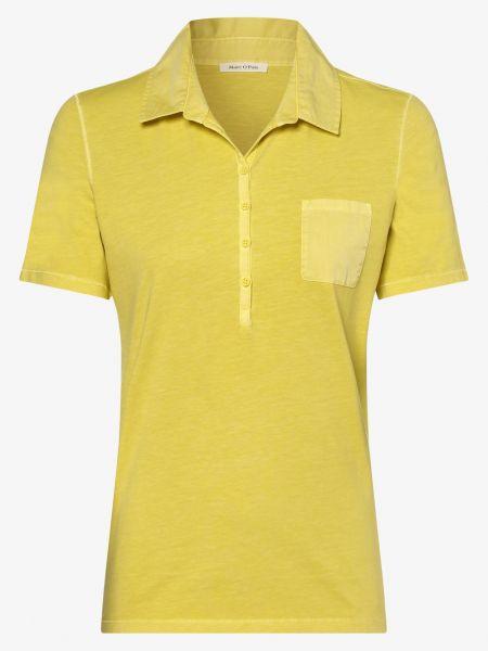 T-shirt - żółta Marc O'polo