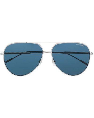 Очки авиаторы солнцезащитные двойные Montblanc