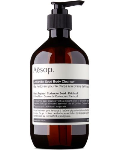 Czarny body skórzany Aesop