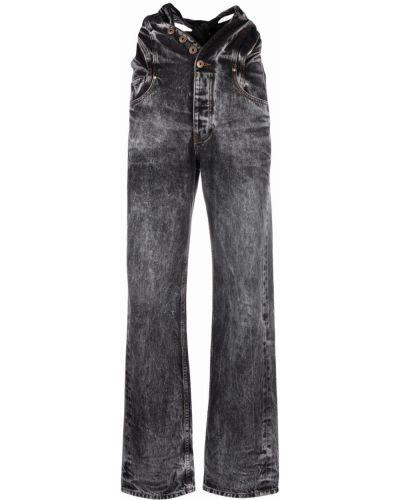 Прямые джинсы классические - черные Y Project