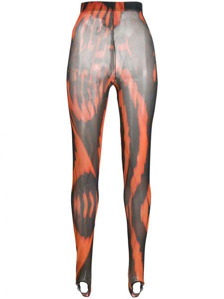 Спортивные брюки с завышенной талией со штрипками Chopova Lowena